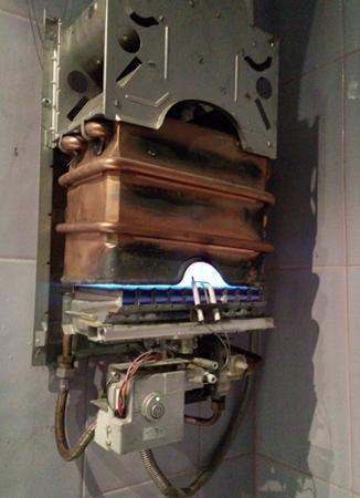 Ремонт колонок газовых электролюкс своими руками 36